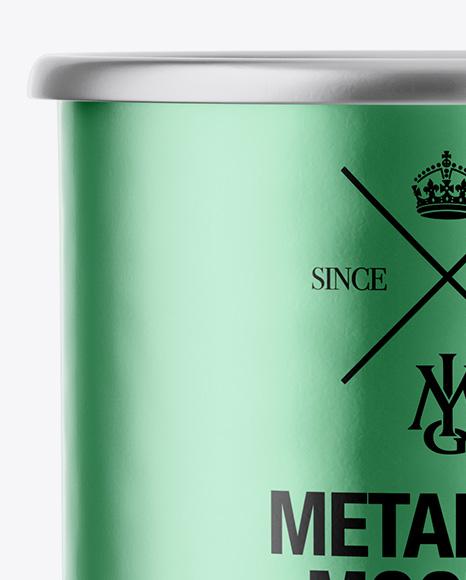 Download Metallic Enamel Cup Psd Mockup Yellow Images