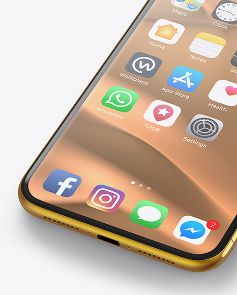 Download Iphone 11 Pro Max Mockup Free Yellowimages