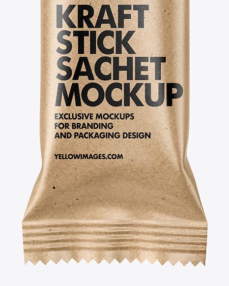 Download Sugar Sachet Mockup Yellowimages