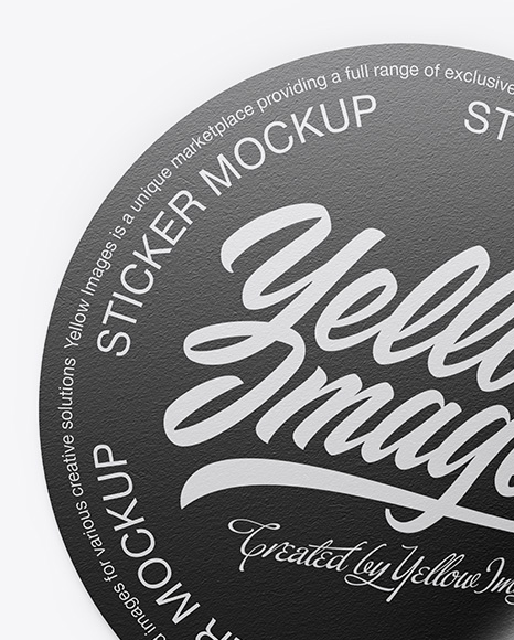 Download Mockup Stickers Free Yellowimages