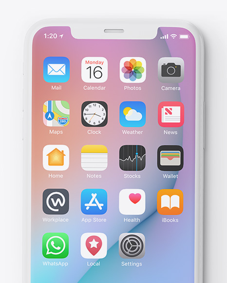 Download Iphone 8 App Mockup Psd Yellowimages