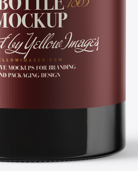Download 15l Red Wine Bottle Psd Mockup Yellowimages