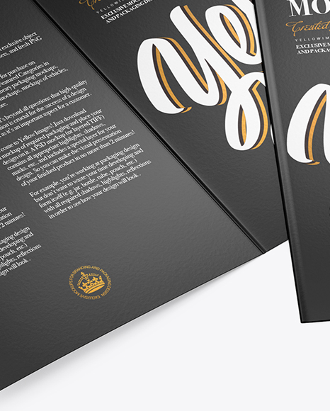 Download Free A5 Brochure Mockup Psd Yellowimages
