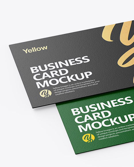 Download Free Business Card Mockup Template Yellowimages