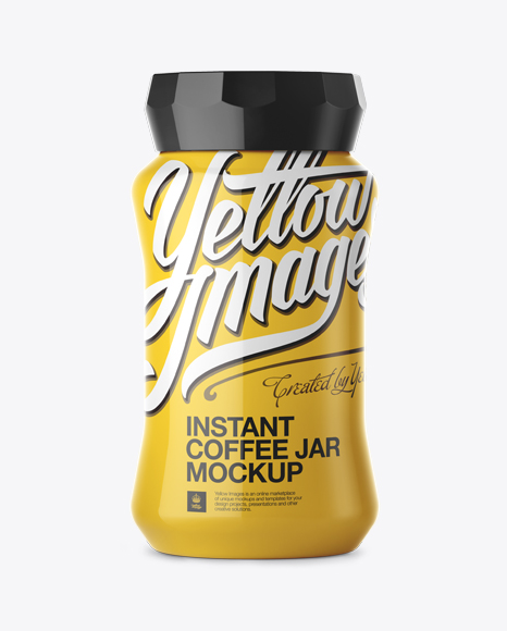 Download Coffee Jar Mockup Free Yellowimages