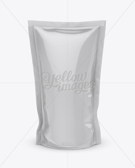 Standing Pouch Mockup : standing, pouch, mockup, Download, Glossy, Stand, Pouch, Mockup, Front, Cover