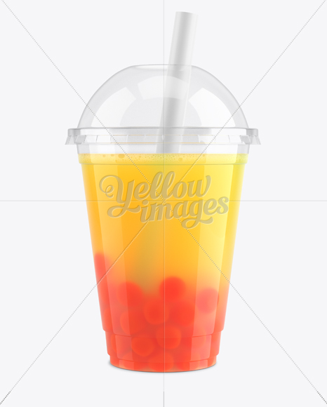 Download Bubble Tea Cup Mockup Free Yellowimages