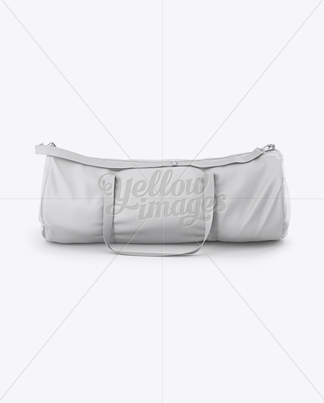 Search through thousands of templates, mockups and icons! Duffle Bag Mockup Front View In Apparel Mockups On Yellow Images Object Mockups