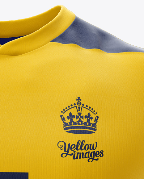 Download Mens Rugby Jersey Mockup Front View - Free PSD Mockups ...
