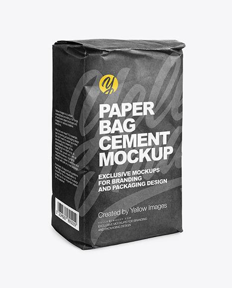 831+ cement bag mockup find & Kraft Paper Cement Bag Mockup In Bag Sack Mockups On Yellow Images Object Mockups