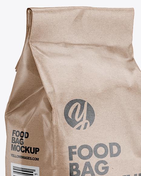 Download Paper Bag Mockup Food Yellowimages