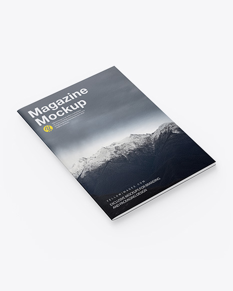 Download A4 Book Mockup Psd Free Yellowimages