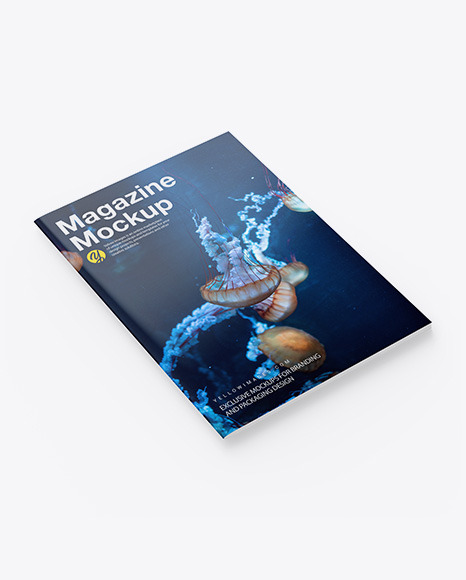 Download Mockup Magazine Cover Yellowimages