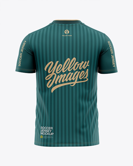 Download Soccer Jersey Mockup Template Yellow Images
