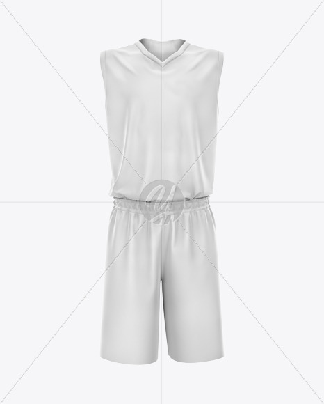 Download Basketball Kit Mockup Front View Yellowimages