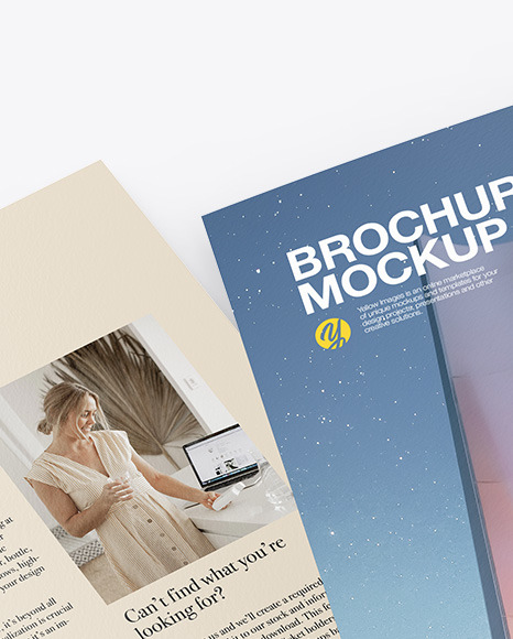 Download Landscape Brochure Psd Mockup Yellowimages