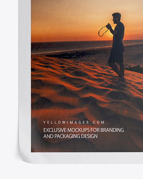 Download Mockup Poster Landscape Yellowimages