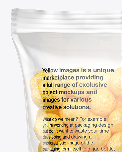 Download Matte Bag With Corn Balls Psd Mockup Yellowimages