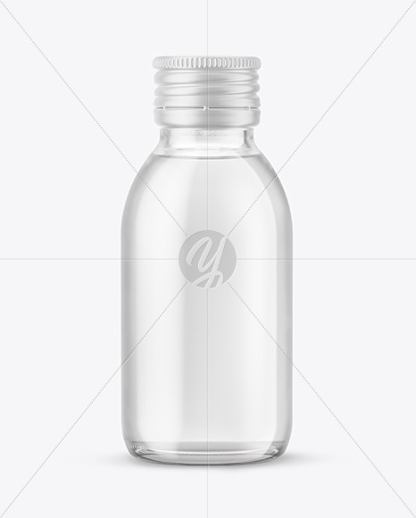 Download 100ml Amber Bottle With Screw Cap Mockup Yellowimages