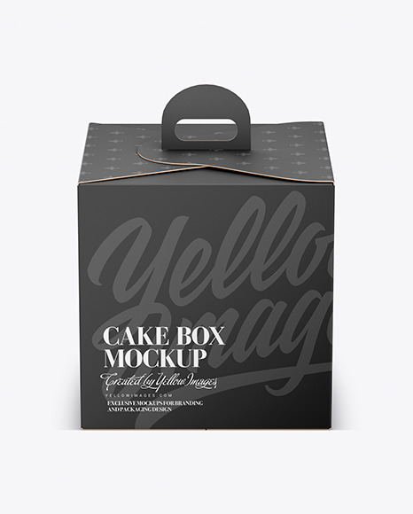 Download Packaging Box Mockup Png Yellow Images