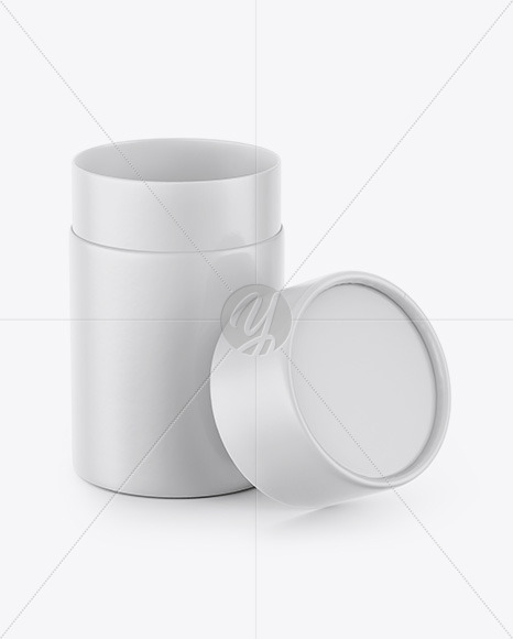 Download Matte Opened Tube Psd Mockup Yellowimages
