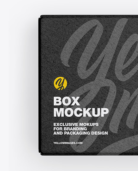 Download Noodles Box Mockup Yellow Images