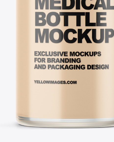 Download Medicine Bottle Mockup Psd Yellowimages