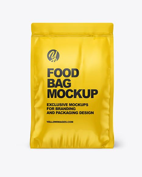 Download Make Up Bag Mockup Free Yellow Images