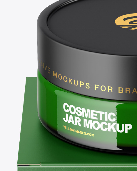 Download Cosmetic Box Packaging Mockup Yellowimages