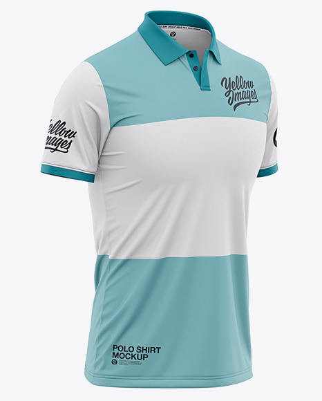 Download Mens Regular Short Sleeve Cricket Jersey Polo Shirt Back ...
