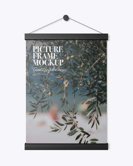 Download Free Mockup Frame Wall Yellowimages