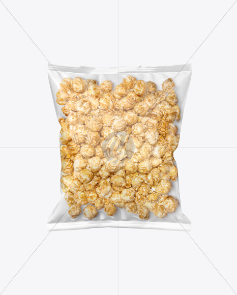 Download Frosted Bag With Corn Sticks Psd Mockup Yellowimages