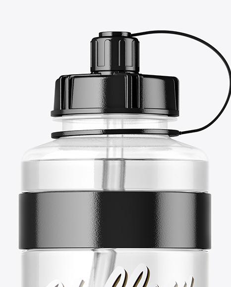 Download 1000ml Plastic Sport Bottle Mockup Yellowimages