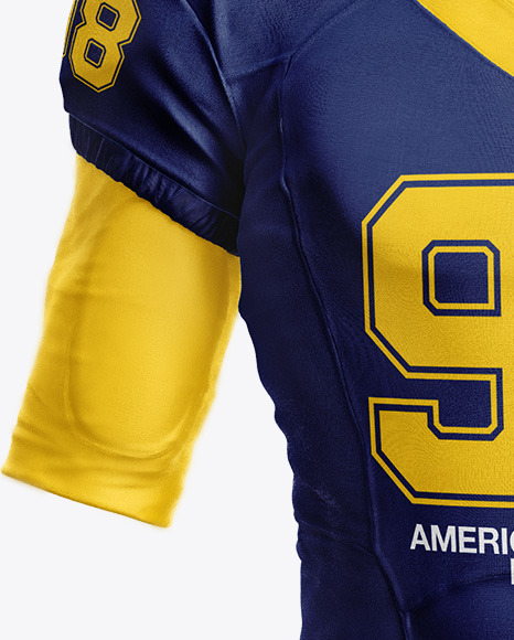 Download American Football Jersey Mockup Psd Free Download