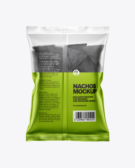 Download Bag With Nachos Psd Mockup Yellowimages