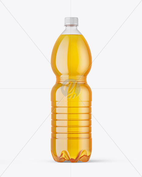 Download Clear Bottle With Cherry Juice Psd Mockup Yellow Images