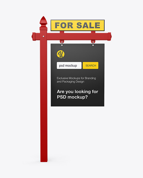 Download Light Box Sign Mockup Yellowimages