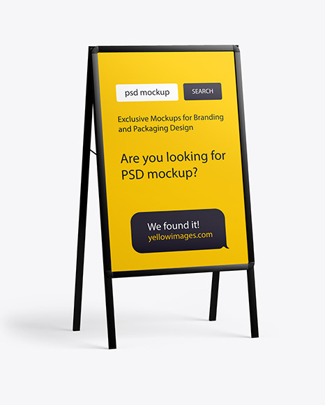 Download Exhibition Mockups Yellowimages