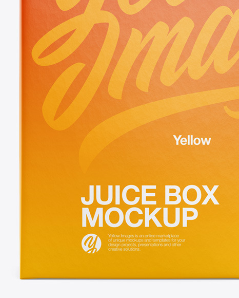Download Juice Box Free Mockup Yellowimages