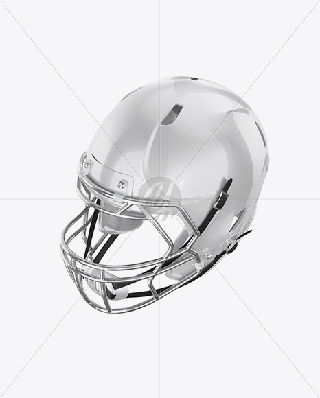 Download American Football Helmet Mockup Top View Yellow Images