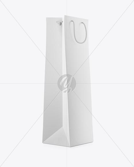 Here you will get the box mockup, label design, packaging, mylar bag, pouch designs on fiverr. Matte Paper Bag For Wine Bottle Mockup Half Side View In Bag Sack Mockups On Yellow Images Object Mockups