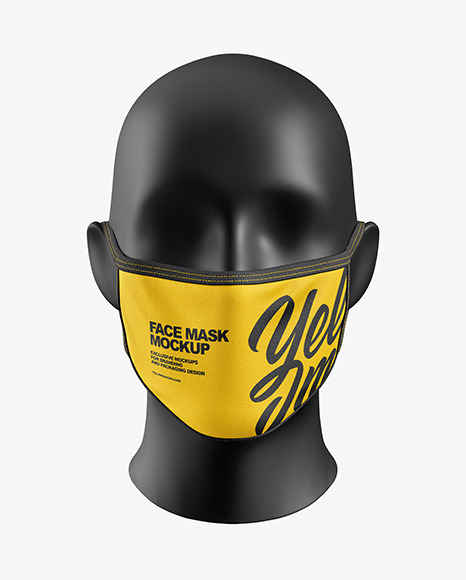 Download Free Mask Mockup Psd Yellowimages