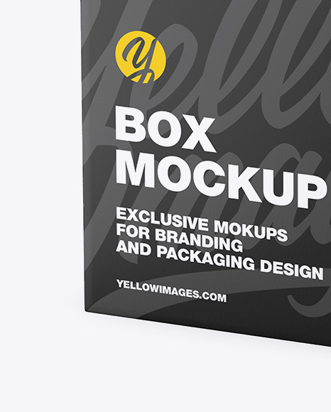Download Mockup Box Square Yellow Images