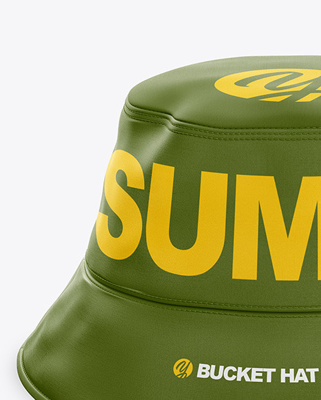 Download Black Bucket Hat Mockup Yellow Images