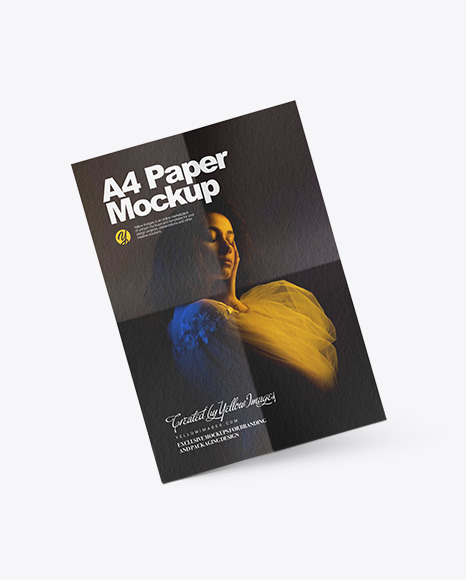Download Magazine Covers Psd Mockup Yellow Images