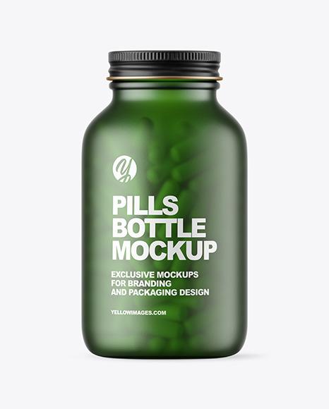 Download Medicine Bottle Mockup Yellowimages
