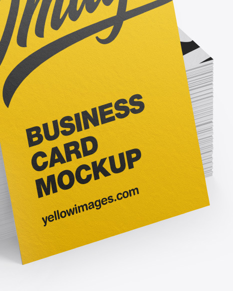 Download Business Card Mockup Psd Yellowimages