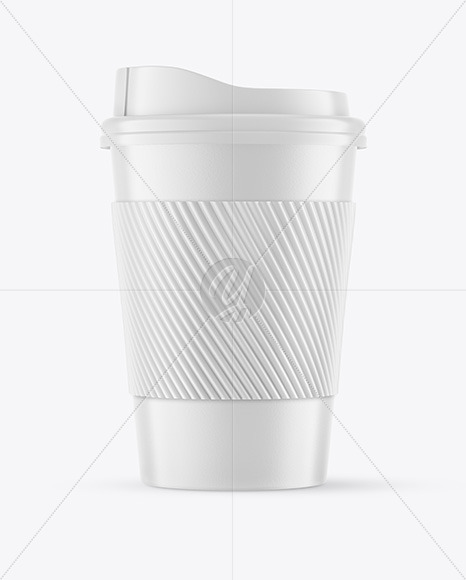Download Coffee Cup Sleeve Mockup Psd Yellow Images