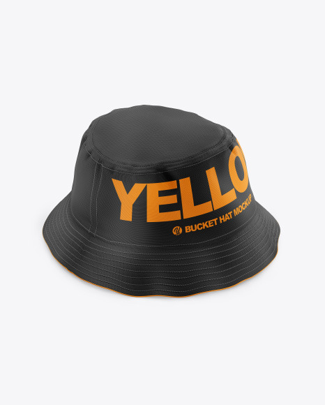 Download Bucket Hat Mockup Front View Yellowimages