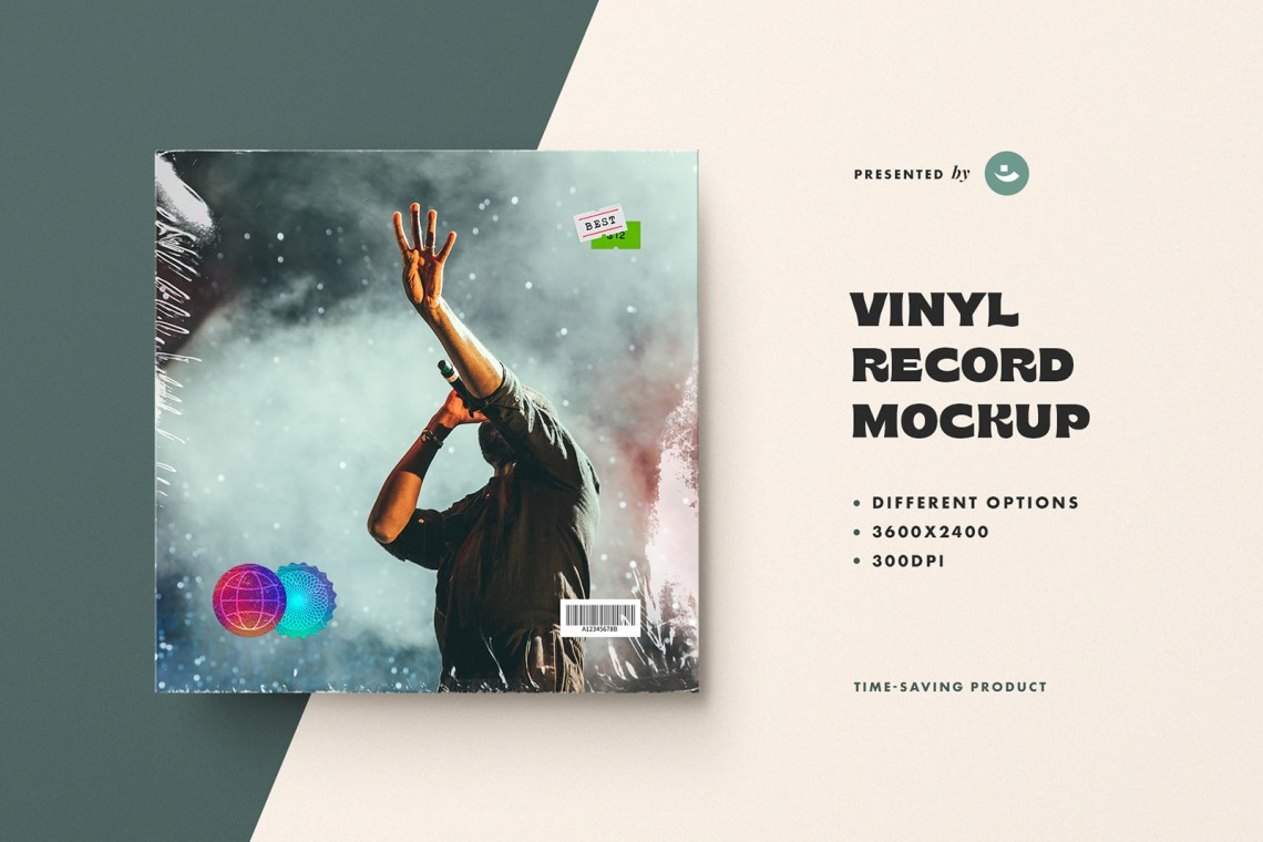 Download Vinyl Cover Mockup Free Yellowimages